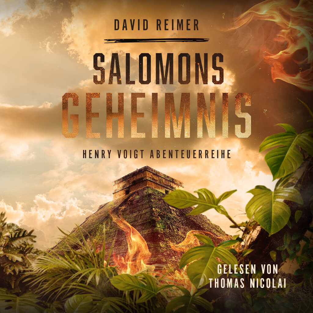 Salomons Geheimnis jetzt als Hörbuch erhältlich